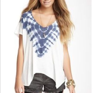 Free People Double Team tie dye t shirt